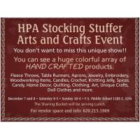 Stocking Stuffer Craft Show at Fort Scott Middle School