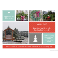 Redbud Farms & Nurseries Holiday Open House