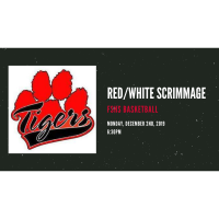 FSHS Basketball Red/White Scrimmage