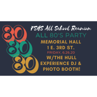 All 80's Party - FSHS All School Reunion