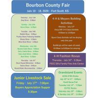 Bourbon County Fair, July 11-18th