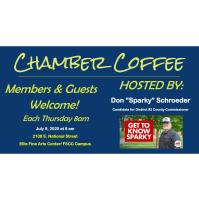 """Chamber Coffee Hosted by Don """"Sparky"""" Schroeder"""