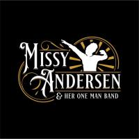 """Bourbon County Arts Council presents a patio concert featuring """"Missy Anderson and Her One Man Band"""""""