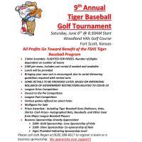 9th Annual Tiger Baseball Golf Tournament!