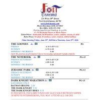 Fort Scott Cinema Showtimes- June 19th thru Thursday, June 25th!