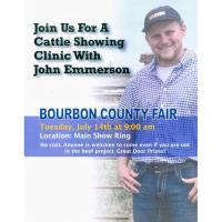 Cattle Showing Clinic with John Emmerson