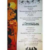 "Clark Street Lights presents ""Haunted Scarefest Haunted House"""