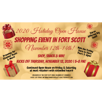 Holiday Open House in Fort Scott 2020!