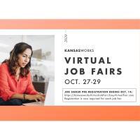 Kansas Works Virtual Job Fair - 3 Day Event