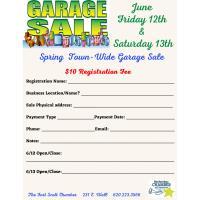 Town-wide Garage Sale in Fort Scott!