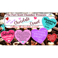 LOVE LOCAL EVENT & CHOCOLATE TASTING DOWNTOWN FORT SCOTT!