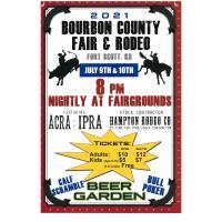 ACRA-IPRA Rodeo, part of the Bourbon County Fair, Fri & Sat 8pm