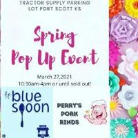 Spring Pop Up Event ~ Perry's Pork Rinds & Blue Sppon ~ Tractor Supply Parking Lot