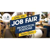 Job Fair at Ward-Kraft, Inc., 9am to noon!