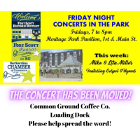 Friday Night Concert at the Common Ground Coffee Co.~ Mike & Lita Miller
