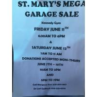 St. Mary's Mega Garage Sale, Fri & Sat