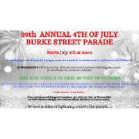 39th Annual 4TH OF JULY ~ BURKE STREET PARADE