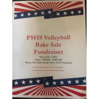 FSHS Volleyball Bake Sale Fundraiser at Nu Grille