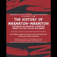 Bourbon County Carpool Tour - History of Marmaton/Marmiton