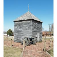 Lunette Blair Donation Ceremy to the Fort Scott National Historic Site