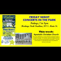 Friday Night Concert at the Heritage Park Pavilion~ Apostolic Christian Church