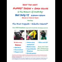 Beat The Heat Puppet Show & Open House