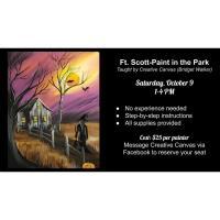 CREATIVE CANVAS - PAINT IN THE PARK (GUNN PARK)