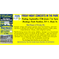 Friday Night Concert in the Park - Matt Harper