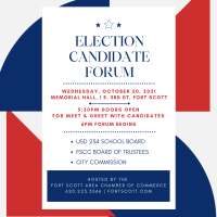 Election Candidate Forum hosted by the Chamber