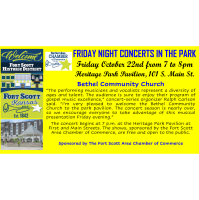 Friday Night Concert in the Park- Bethel Community Church