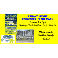 Friday Night Concert in the Parks  - Bourbon County Revival