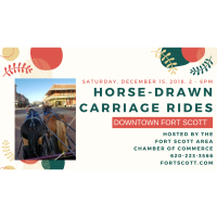 Horse-drawn Carriage Rides - Downtown FS - 2-6pm