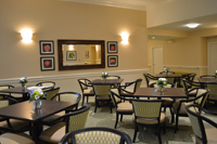 Country Place Senior Living Dining Room