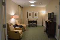 Country Place Senior Living Library/Game Room