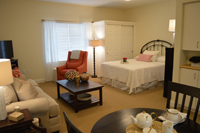 Country Place Senior Living Model Suite