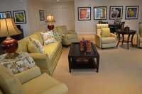 Country Place Memory Care Family Room