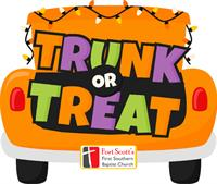 Trunk or Treat at First Southern Baptist Church