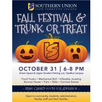 SUSCC Fall Festival and Trunk or Treat