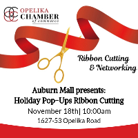 Auburn Mall presents Holiday Pop-Ups Ribbon Cutting