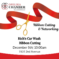 Rich's Car Wash Ribbon Cutting