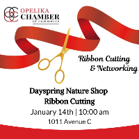 Dayspring Nature Shop Ribbon Cutting