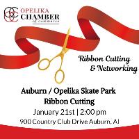 Auburn / Opelika Skate Park Ribbon Cutting