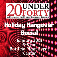 20 Under 40 // Holiday Hangover Social