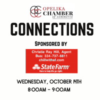 Connections I Sponsored By: Christie Hill - State Farm