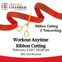 Workout Anytime Ribbon Cutting