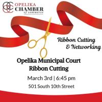 Opelika Municipal Court Ribbon Cutting