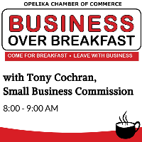 Business Over Breakfast with Tony Cochran Sponsored by: Glynn Smith Chevrolet