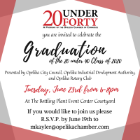 20 Under 40 Graduation // Presented By: Opelika City Council, OIDA, and Opelika Rotary Club