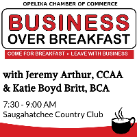 Business Over Breakfast with CCAA & BCA // Sponsored by: Glynn Smith Chevrolet
