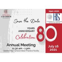80th Annual Meeting // Sponsored by H&S Commercial & Industrial Supplies & Services, LLC